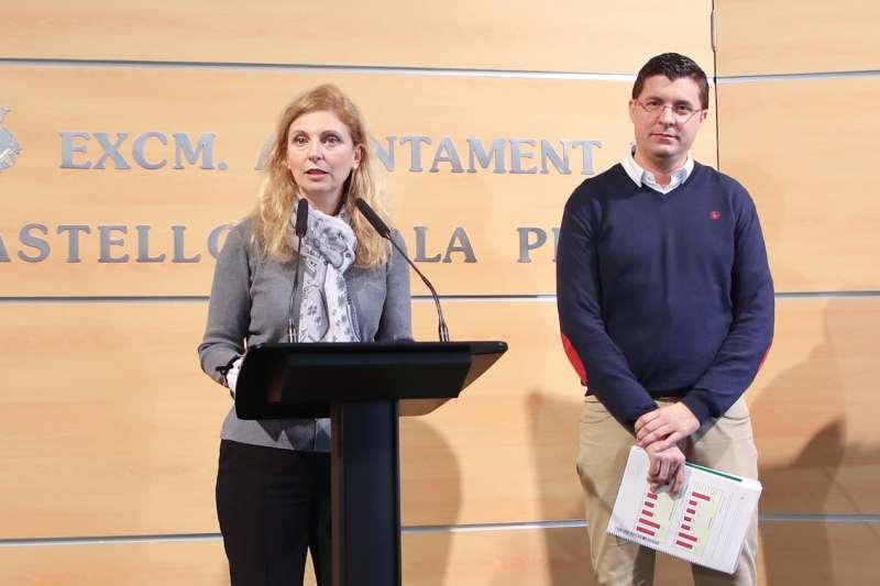 David Donate y Amparo Marco