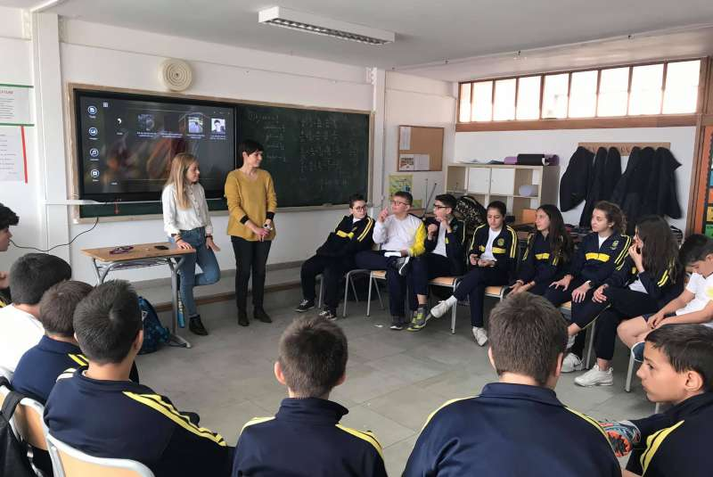 Taller con alumnos del Seminario