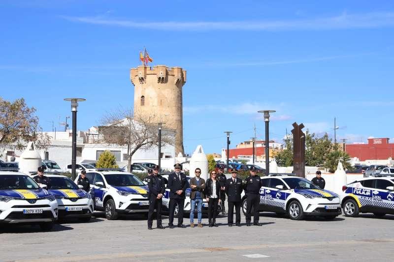 Renovación de la flota de vehículos de la Policía Local de Paterna