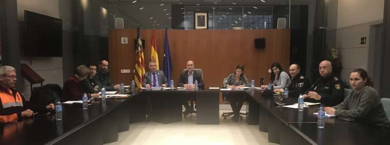 Junta de Seguridad en Massamagrell. EPDA