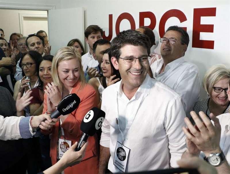 El alcalde de Ontinyent y expresidente de la Diputación de Valencia, Jorge Rodríguez. EFE/ La Vall D