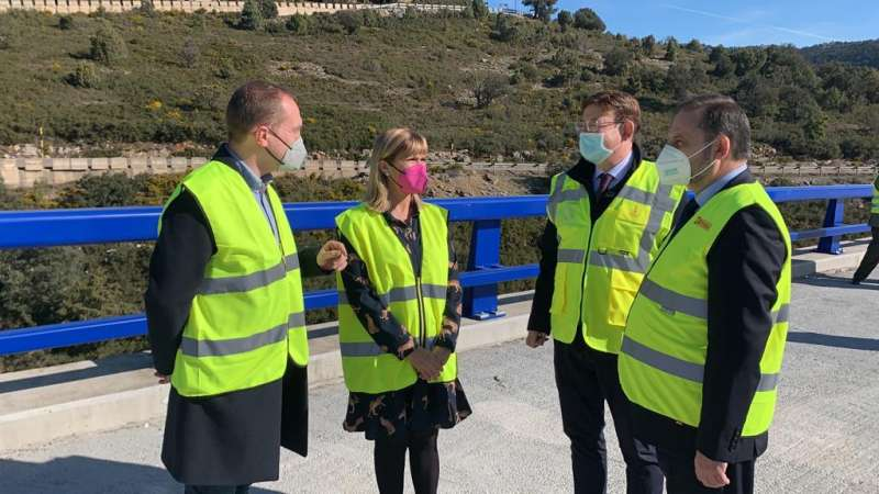 Inauguración de la nueva carretera/EPDA