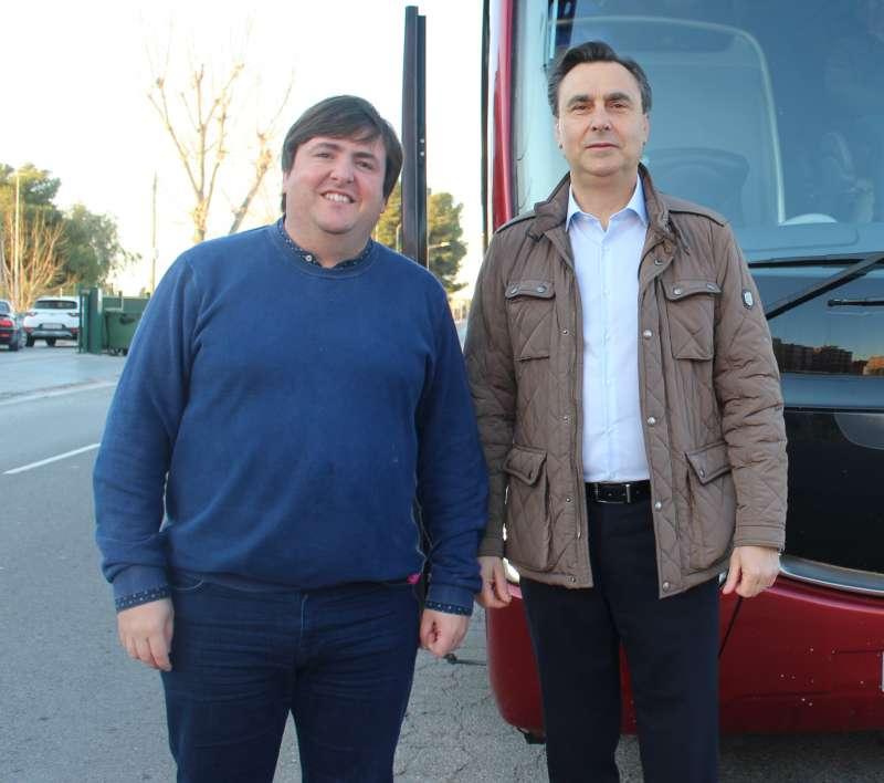 Vicent Granel y Juanvi Moros