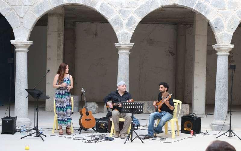 La actuación tuvo lugar en el claustro del convento