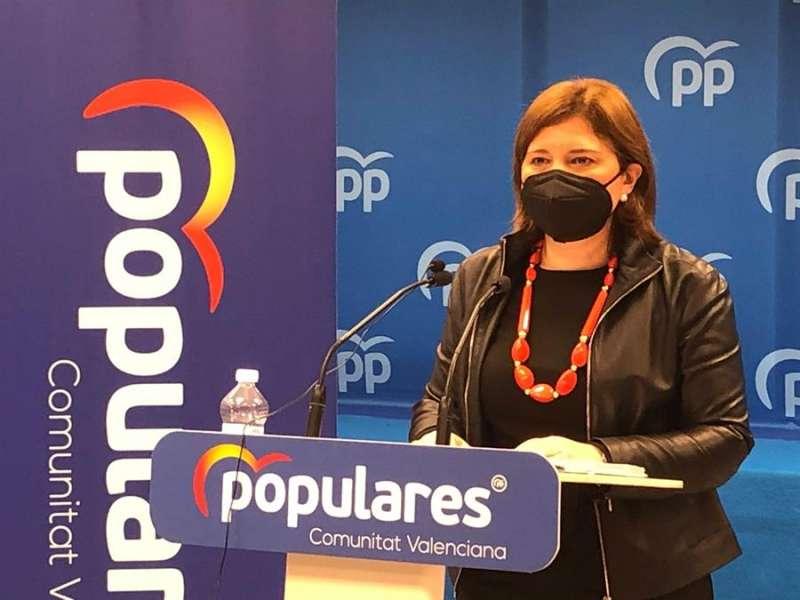 La presidenta del Partido Popular de la Comunitat Valenciana. PPCV