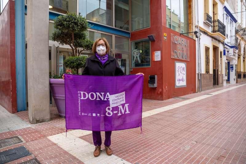 Carmen Lapeña, concejala de Políticas de Igualdad del gobierno municipal