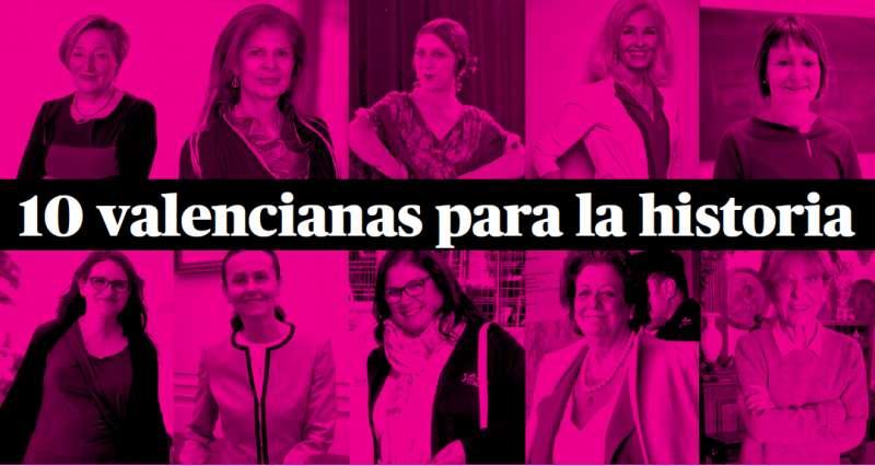 Mujeres valencianas en el 8M. EPDA