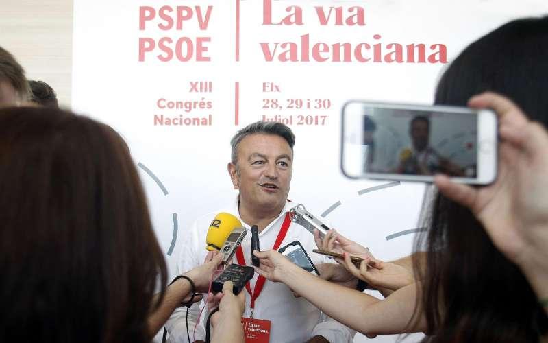 El secretario general del PSPV-PSOE en la provincia de Alicante. EPDA