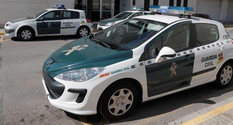 Foto archivo coche Guardia Civil