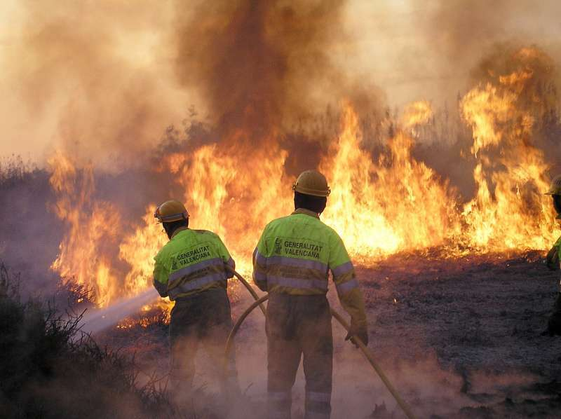 Incendio. Archivo EPDA.