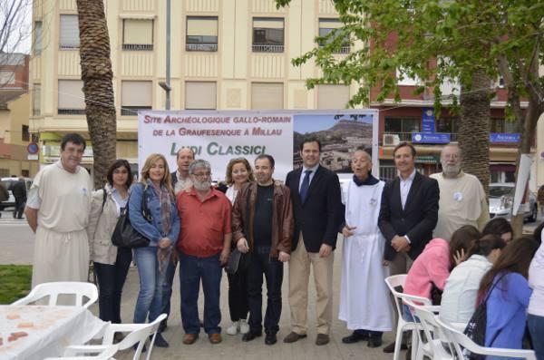 Visita de los concejales a los talleres Ludi Saguntini. EPDA