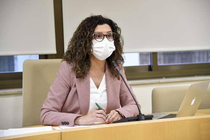 La alcaldesa de Paiporta. EPDA