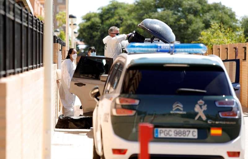 Agentes de la Guardia Civil de Castellón en una imagen de archivo. EFE