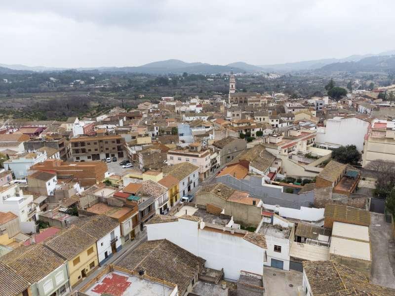 Casco urbano de Estivella / PACO QUILES