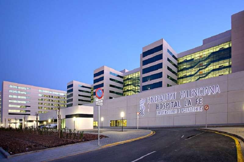 Imagen de archivo del Hospital de La Fe en Valencia.
