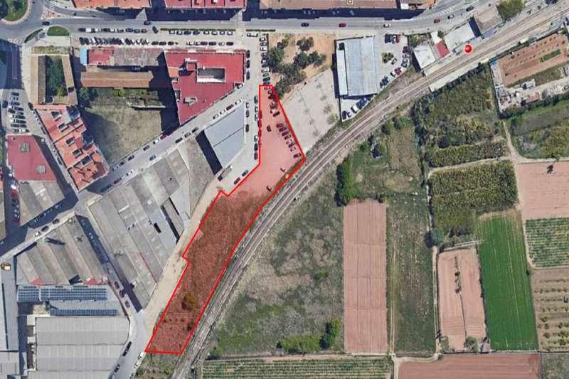 Plano del nou aparcament municipal
