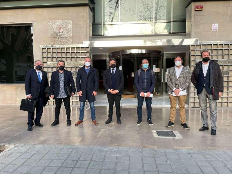 Reunión de Asociacion de Hosteleros de Castelló (ASHOCAS)