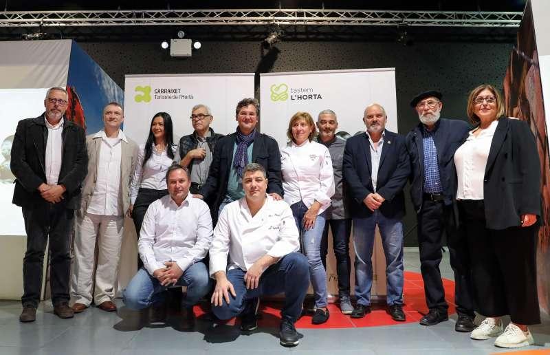 Impulsores y protagonistas de la nueva iniciativa turística. EPDA