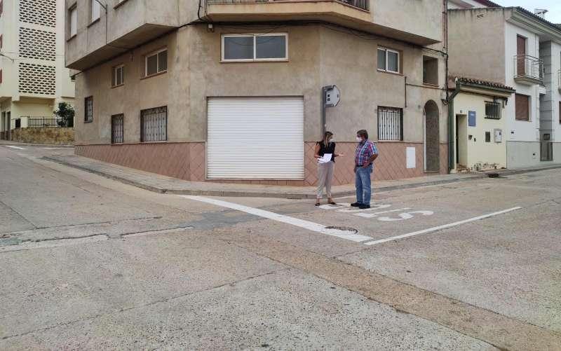 Pavimentación calles/EPDA