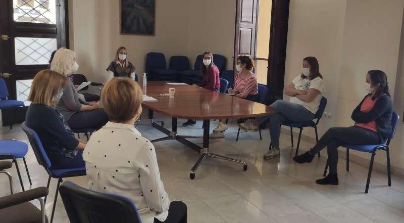 Reunión departamento de Servicios Sociales