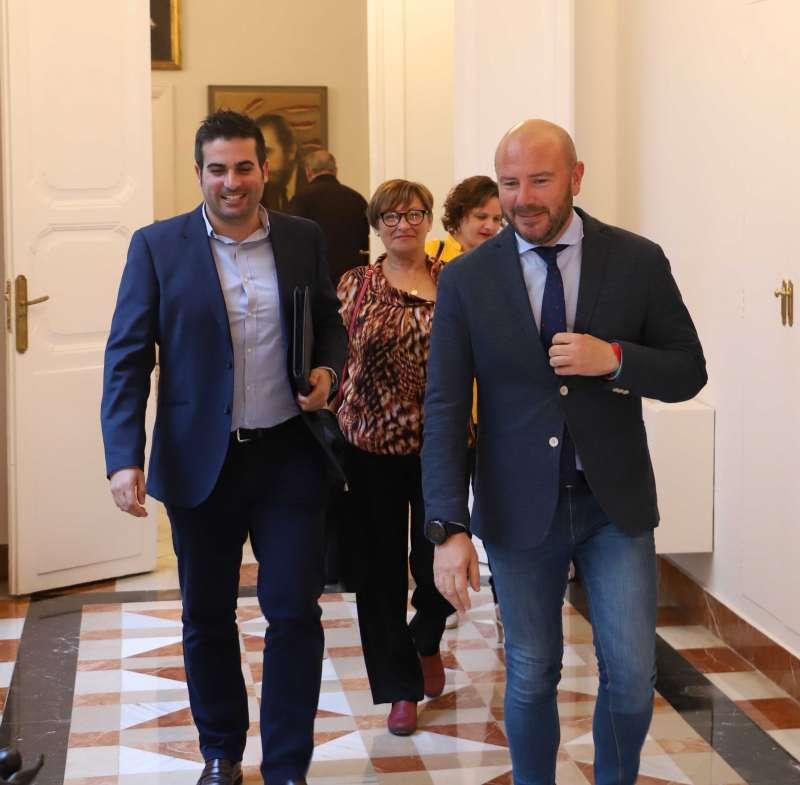 Encuentro Néstor Albert y Toni Gaspar. EPDA