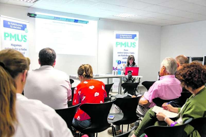 Presentació del Pla a Rafelbunyol. EPDA