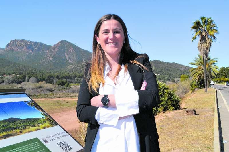 Maite Pérez, la candidata del PSPV de Albalat dels Tarongers. EPDA