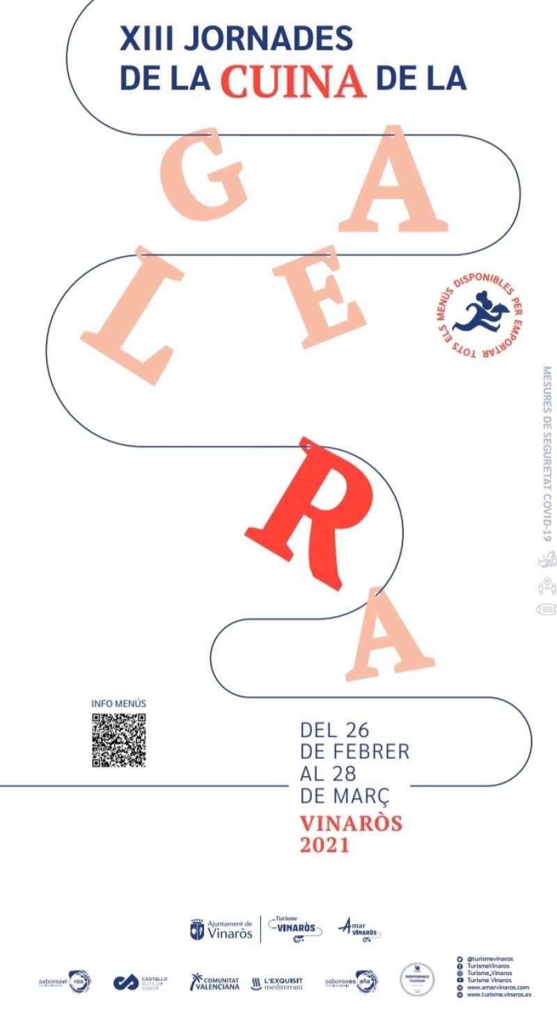 Cartel jornades gastronomiques de Vinaròs