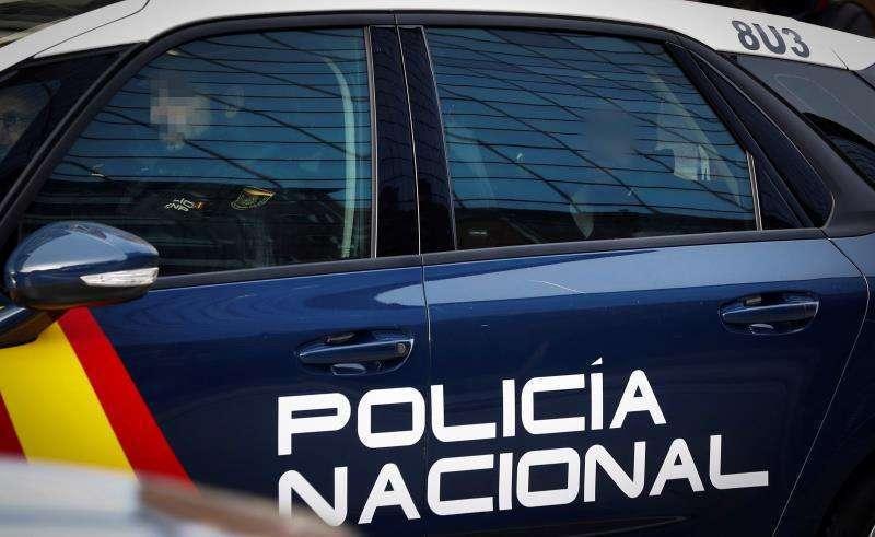 Vehículo de la Policía Nacional./ EPDA