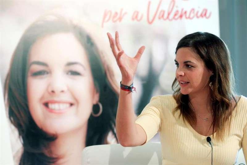 La vicealcaldesa de València, Sandra Gómez (PSPV). EFE