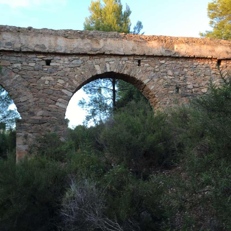Els Arquets, construidos con piedra tallada a la perfección. / EPDA