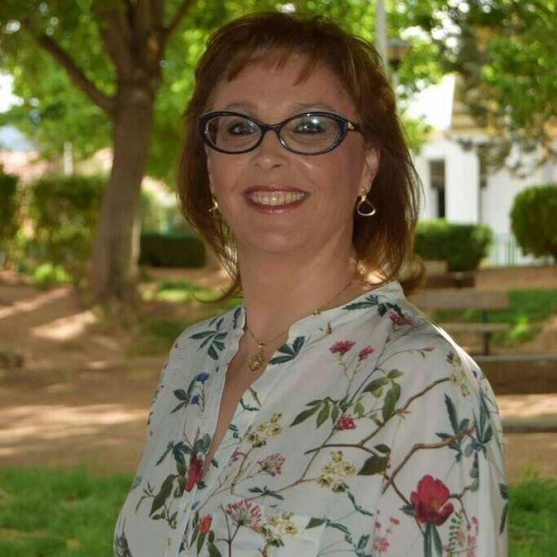 La alcaldesa de Marines, Lola Celda. //EPDA