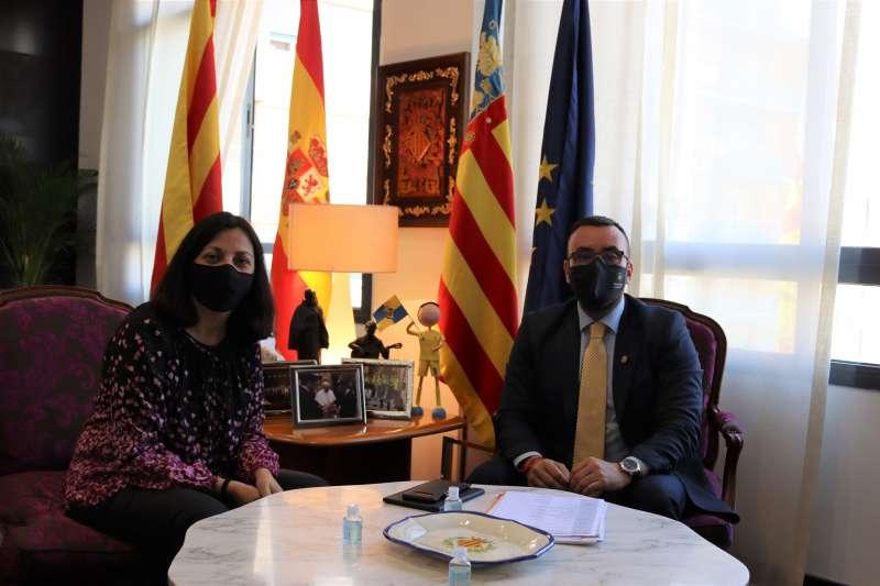 Eva Redondo y José Benlloch/EPDA