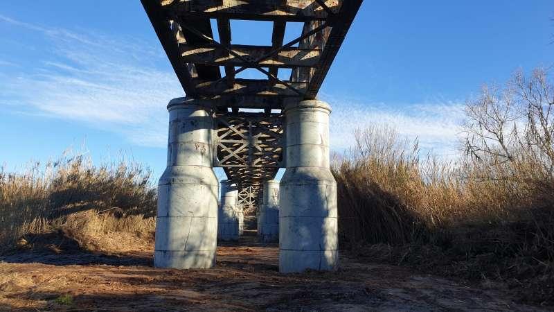 Pont de ferro de Vilamarxant. / EPDA