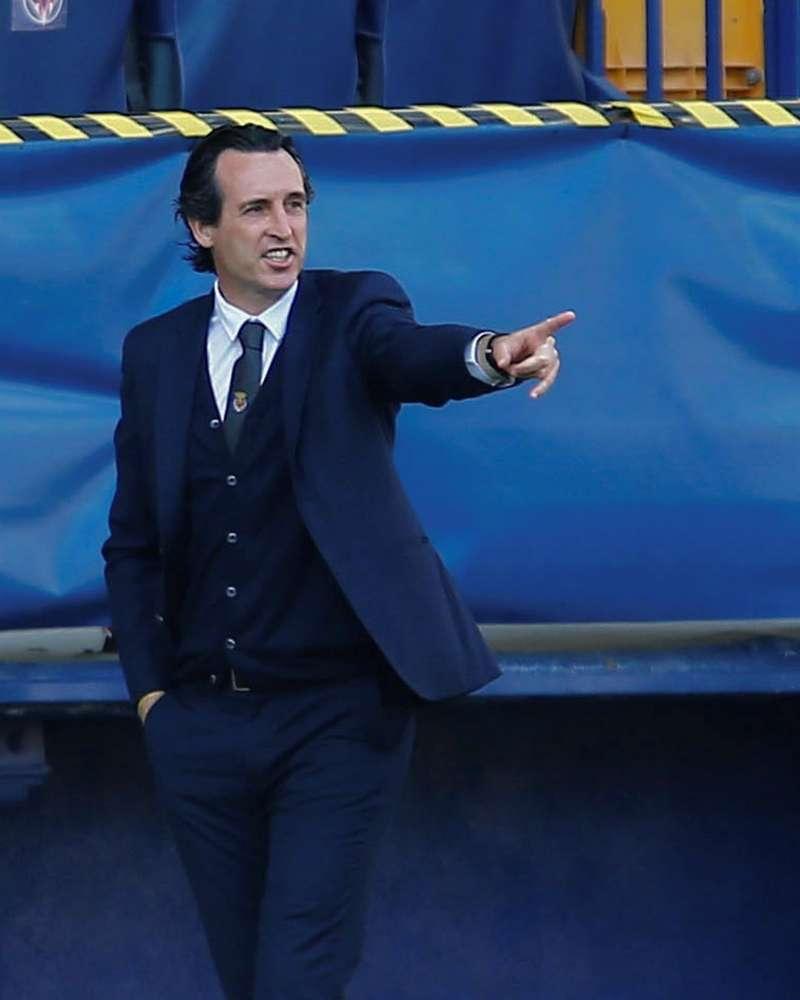 El entrenador del Villarreal, Unai Emery. EFE
