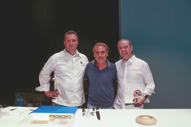 Los chefs participantes en la edición de este año. //EPDA