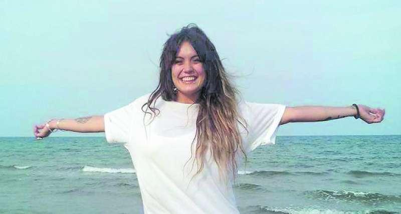 La joven Marta Calvo. EPDA