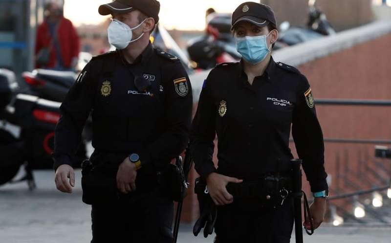 Efectivos de la Policía Nacional, en una operación. EFE/Archivo