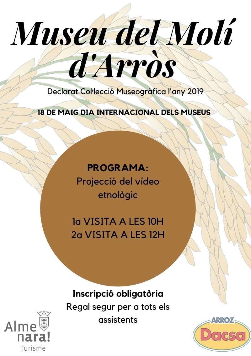 Cartel del Día Internacional de los Museos.