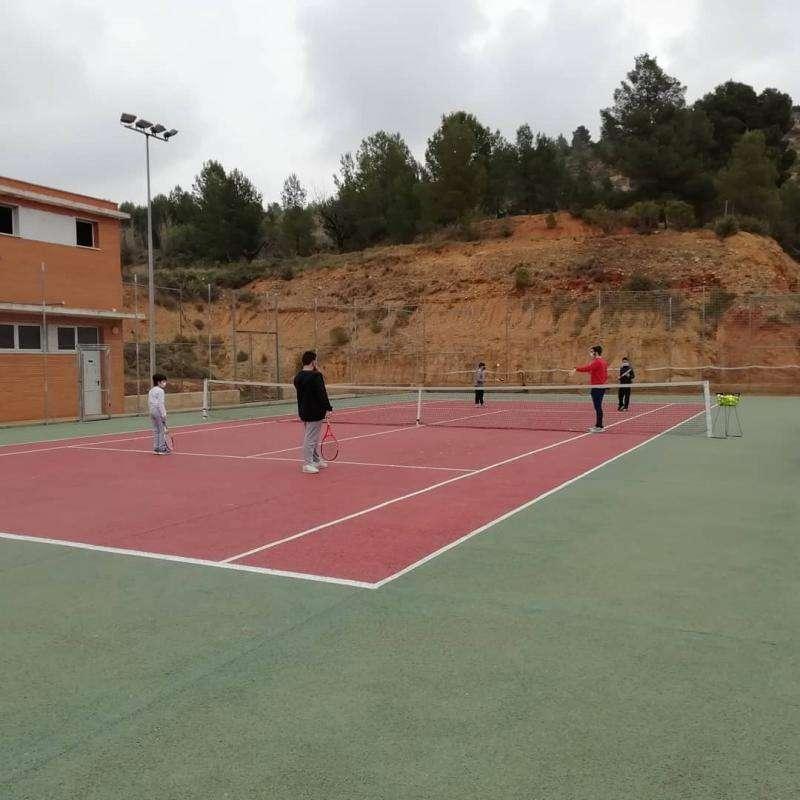 Pista de tenis de Buñol