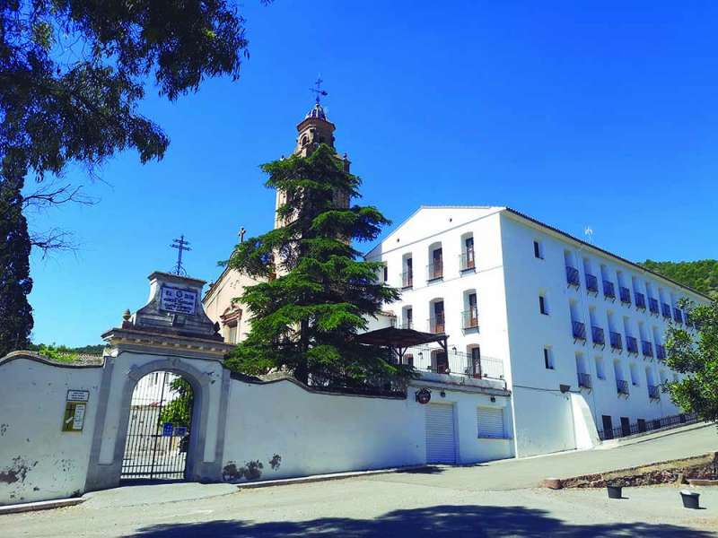 Vista General del Monasterio.