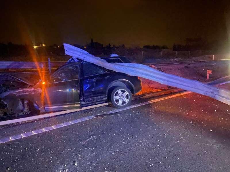 Accidente en la A-31. EPDA
