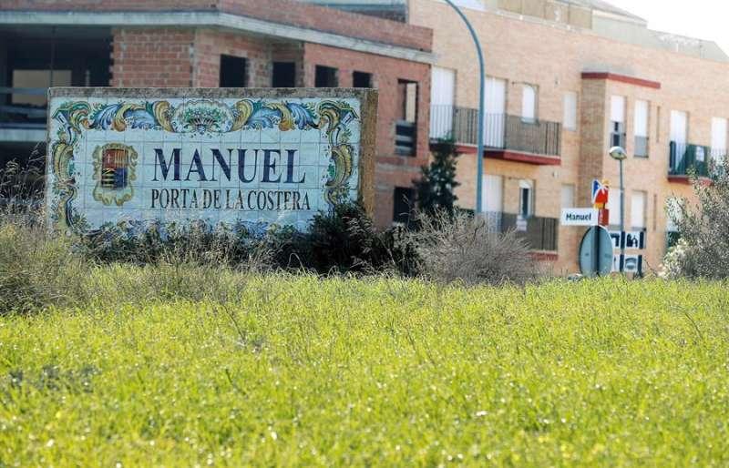 Vista de la localidad valenciana de Manuel. EFE/Kai Försterling/Archivo