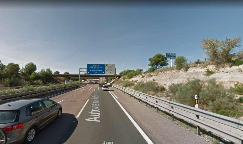 Carretera de la A7. EPDA.