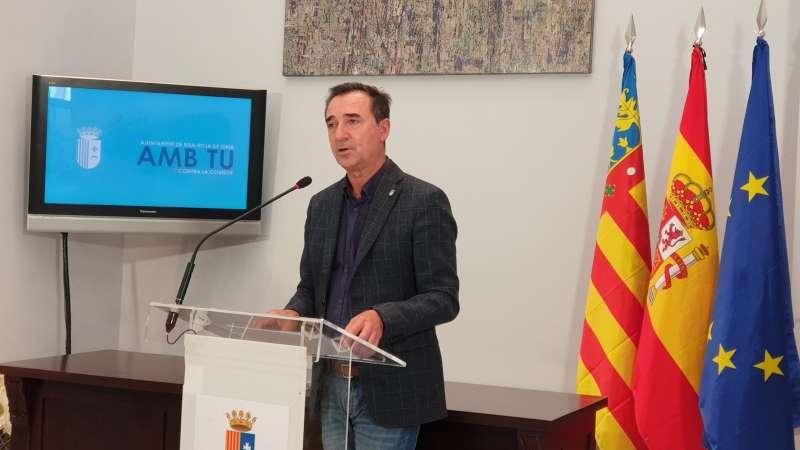 Comparecencia del alcalde de Riba-roja.EPDA