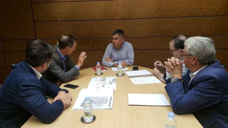 Reunión con el Delegado del Gobierno