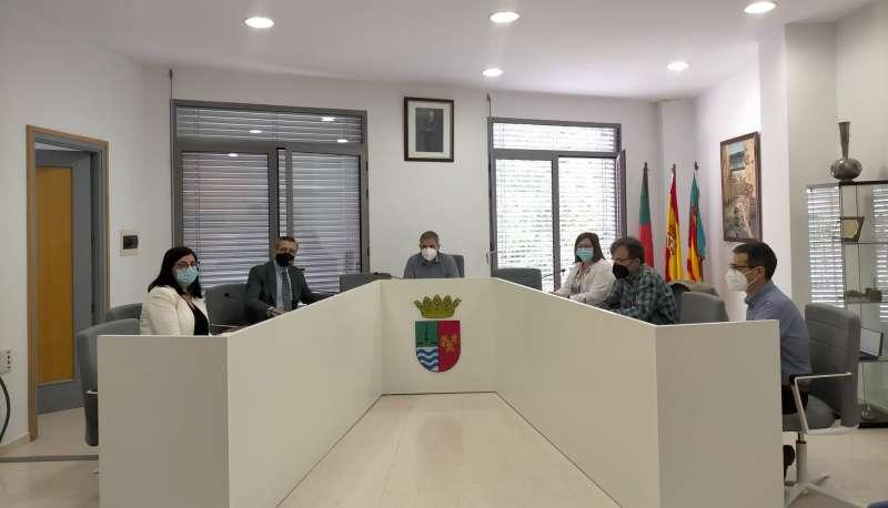 Reunión en el Ayuntamiento de Soneja