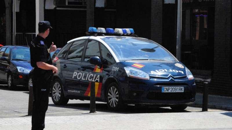 Imagen de archivo de una operación de la Policía Nacional. EPDA