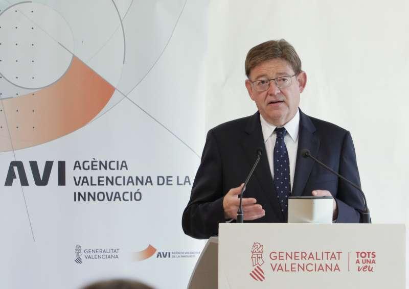 El president de la Generalitat, Ximo Puig. Imagen: GVA
