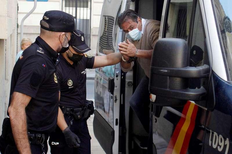 El hombre de nacionalidad belga, de 63 años, acusado del asesinato de su pareja sentimental.